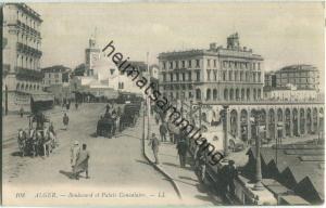 Alger - Boulevard et Palais Consulaire