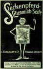 10 x Original-Werbung/ Anzeige 1907 bis 1913 - STECKENPFERD LILIENMILCH SEIFE / BERGMANN - RADEBEUL - UNTERSCHIEDLICHE GRÖSSEN