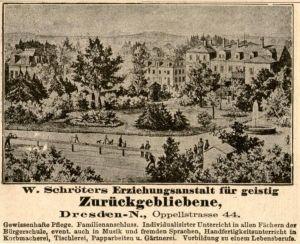 10 x Original-Werbung/ Anzeige 1890 bis 1924 - MOTIVE AUS DRESDEN - UNTERSCHIEDLICHE GRÖSSEN