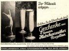 10 x Original-Werbung/ Anzeige 1935 bis 1969 - HUTSCHENREUTHER PORZELLAN - UNTERSCHIEDLICHE GRÖSSEN