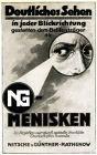 10 x Original-Werbung/ Anzeige 1903 bis 1955 -  BRILLEN - Größe unterschiedlich