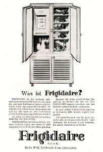 10 x Original-Werbung/ Anzeige 1926 bis 1969 - KÜHLSCHRÄNKE - Größe unterschiedlich