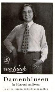 10 x Original-Werbung/ Anzeige 1930 bis 1953 - MODE - UNTERSCHIEDLICHE GRÖSSEN