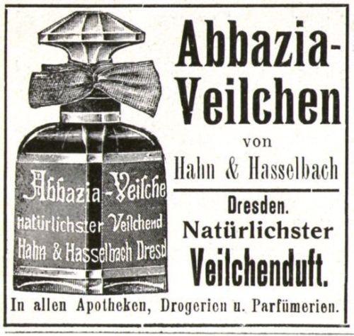 3 x Original-Werbung/ Anzeige 1908-1910 - PARFUMS - UNTERSCHIEDLICHE GRÖSSEN