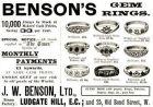 3 x Original-Werbung/ Anzeige 1903-1925 - RINGE / SCHMUCK / JUWELEN - UNTERSCHIEDLICHE GRÖSSEN
