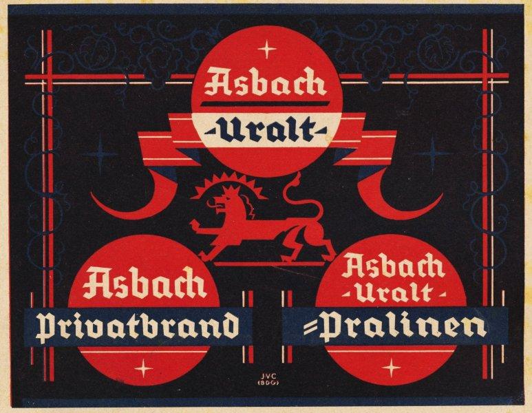 Original-Werbung/ Anzeige 1930 - ASBACH URALT - ca. 135 X 90 mm