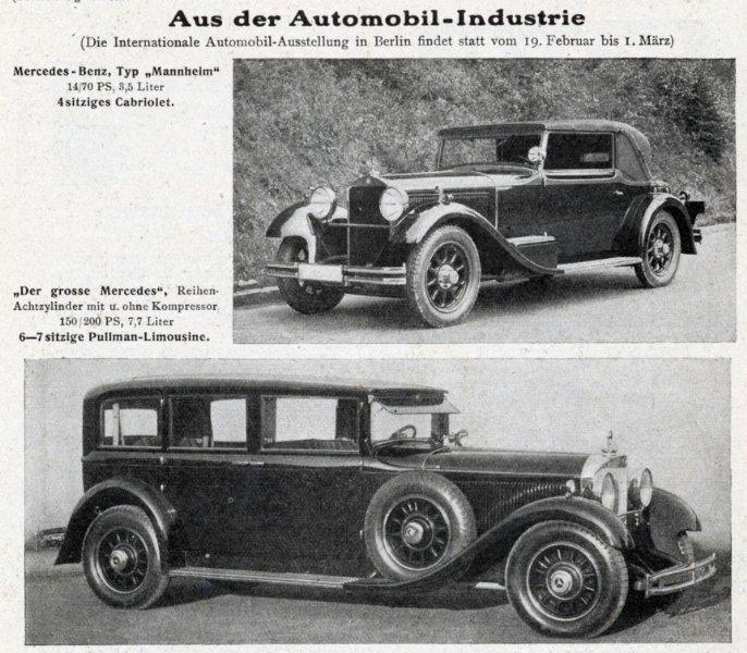 Original-Werbung/ Anzeige 1931 - MERCEDES-BENZ - ca. 135 x 125 mm 0