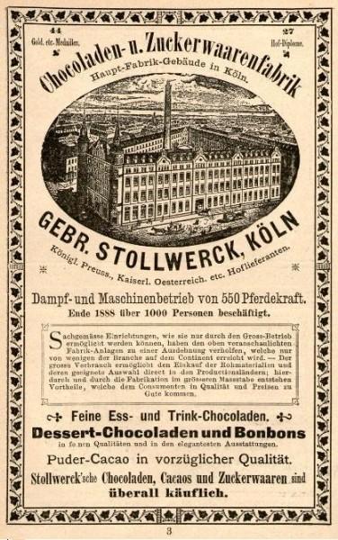 10 x Original-Werbung/ Anzeige 1889 bis 1916 - STOLLWERCK SCHOKOLADE / KAKAO - GANZSEITEN