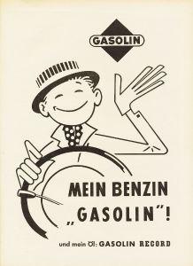 10 x Original-Werbung/ Anzeige 1956 bis 1959 - TANKSTELLEN / BP / ARAL / SHELL / GASOLIN - GANZSEITEN
