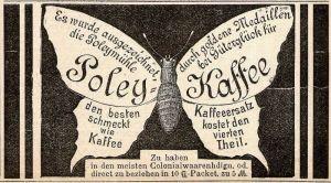 10 x Original-Werbung/ Anzeige 1894 bis 1955 - KAFFEE - UNTERSCHIEDLICHE GRÖSSEN