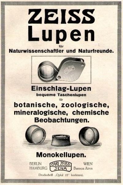 10 x Original-Werbung/ Anzeige 1916 bis 1949 - LUPEN - UNTERSCHIEDLICHE GRÖSSEN