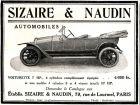 10 x Original-Werbung/ Französische Anzeigen 1912 bis 1957 - AUTOMOBILE / OLDTIMER - UNTERSCHIEDLICHE GRÖSSEN