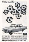 10 x Original-Werbung / Anzeigen 1960 ER JAHRE - AUTOMOBILE / OPEL - UNTERSCHIEDLICHE GRÖSSEN