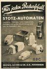 10 x Original-Werbung/ Anzeige 1938 - ELEKTRO-INSTALLATIONEN / MATERIAL - Größe unterschiedlich