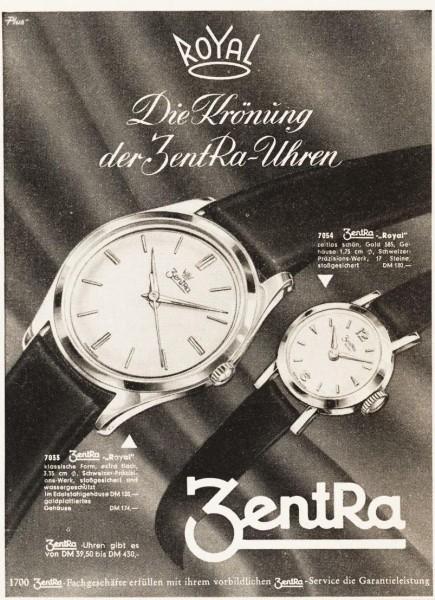 10 x Original Werbung Anzeigen 1950 ER JAHRE UHREN UNTERSCHIEDLICHE GRÖSSEN
