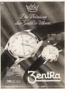 10 x Original-Werbung / Anzeigen 1950 ER JAHRE - UHREN - UNTERSCHIEDLICHE GRÖSSEN
