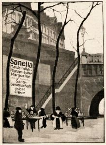10 x Original-Werbung/ Anzeige 1908 bis 1955 - SANELLA - UNTERSCHIEDLICHE GRÖSSEN