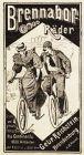 10 x Original-Werbung/ Anzeige 1895 bis 1907 - FAHRRÄDER - UNTERSCHIEDLICHE GRÖSSEN