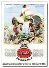 10 x Original-Werbung / Anzeigen 1949 - 1953 - TEXAS CIGARETTEN - GANZSEITEN