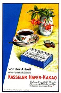10 x Original-Werbung / Anzeigen 1925 - 1933 - KASSELER HAFER KAKAO - GANZSEITEN
