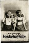 10 x Original-Werbung / Anzeigen 1928 - 1939 - KASSELER HAFER KAKAO - VERSCHIEDENE GRÖSSEN