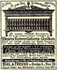 10 x Original-Werbung/ Anzeige 1901 bis 1928 -  VERSANDHAUS BIAL & FREUND - BRESLAU - Größe unterschiedlich