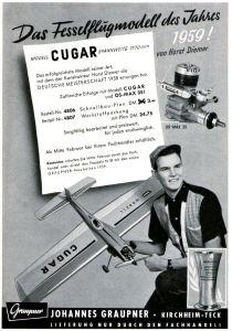10 x Original-Werbung / Anzeigen 1959 - MODELLBAU - GANZSEITEN