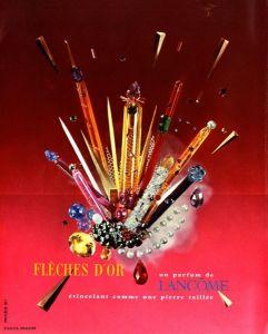10 x Original-Werbung/ Französische Anzeigen 1955 bis 1957 - PARFUMS - GANZSEITEN