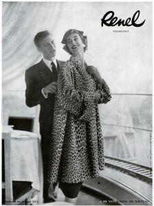 10 x Original-Werbung/ Französische Anzeigen 1955 bis 1957 - MODE UND SCHMUCK - GANZSEITEN