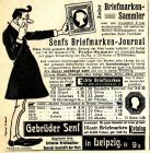 10 x Original-Werbung/ Anzeige 1906 bis 1930 - BRIEFMARKEN - Größe unterschiedlich