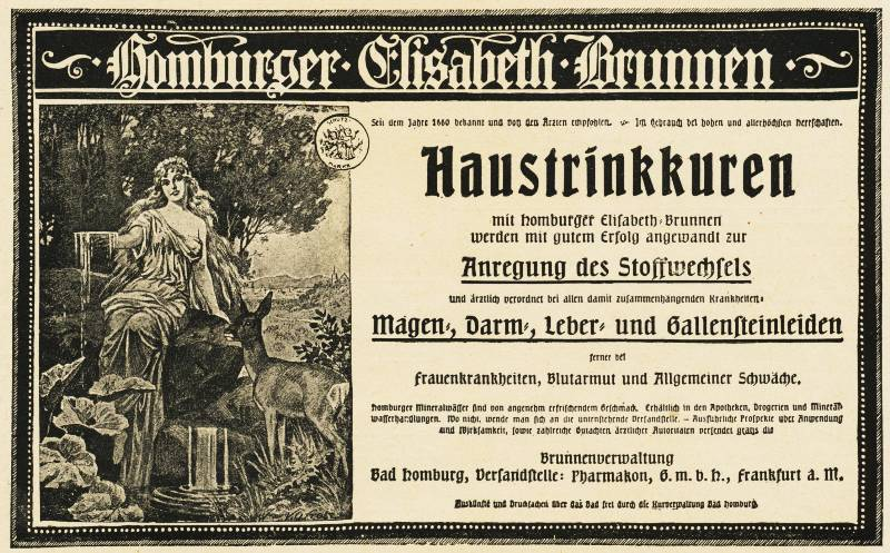 10 x Original-Werbung/ Anzeige 1889 bis 1954 - MINERALWASSER - Größe unterschiedlich