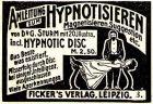10 x Original-Werbung/ Anzeige 1899 bis 1950 - ESOTERIK / WAHRSAGER/ HYPNOSE U.Ä. / UNTERSCHIEDLICHE GRÖSSEN