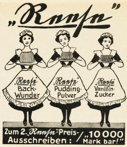 10 x Original-Werbung/ Anzeige 1926 bis 1969 - BACKPULVER - Größe unterschiedlich