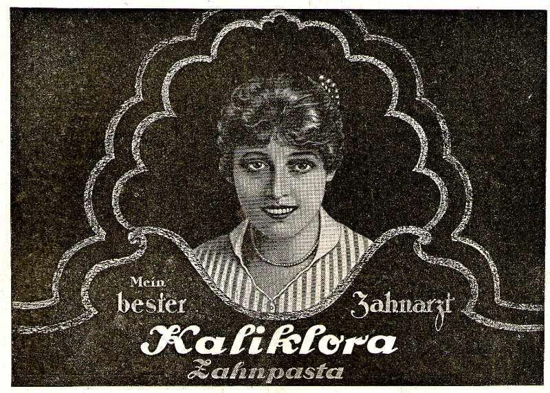 10 x Original-Werbung/ Anzeige 1920 bis 1949 - KALIKLORA ZAHNPASTA - verschiedene Größen