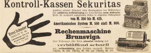 10 x Original-Werbung/ Anzeige 1895 bis 1969 - RECHENMASCHINEN - Größe unterschiedlich