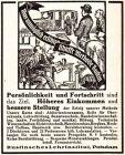 10 x Original-Werbung / Anzeigen 1913 BIS 1936 - RUSTIN''SCHES LEHRINSTITUT POTSDAM - verschiedene Größen
