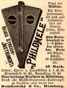 10 x Original-Werbung/ Anzeige 1893 bis 1920 - MUSIK / MUSIKINSTRUMENTE - UNTERSCHIEDLICHE GRÖSSEN