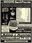 10 x Original-Werbung/ Anzeige 1899 bis 1935 - MUSIKINSTRUMENTE AUS KLINGENTHAL - UNTERSCHIEDLICHE GRÖSSEN