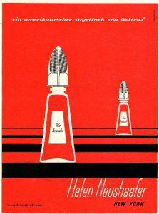 10 x Original-Werbung/ Anzeige 1937 bis 1964 - NAGELLACK UND LIPPENSTIFTE - Größe unterschiedlich