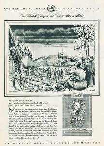 10 x Original-Werbung/ Anzeige 1951 - 1960 - ASTOR CIGARETTEN / TABAK - GANZE SEITEN