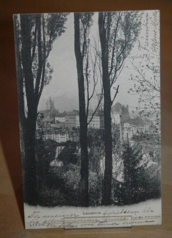 AK Lausanne 1904 Schweiz Waadt