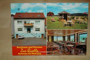 AK Aufenau Gasthaus Quelle Bad Orb Hessen Spessart Vogelsberg Wächtersbach