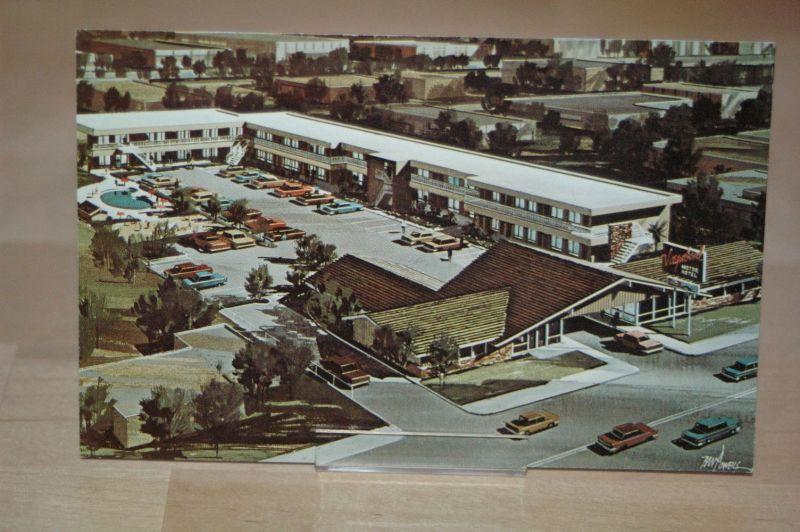 AK Santa Ana USA Kalifornien Vagabond Motor Hotel California ca. 50er- /  60er-Jahre