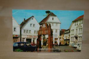 AK Bad Orb Spessart Hessen Marktplatz