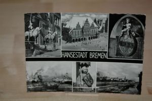 AK Bremen 1966 Hansestadt