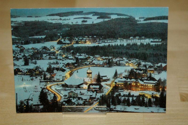 AK Hinterzarten 1978 Dämmerung! Schwarzwald