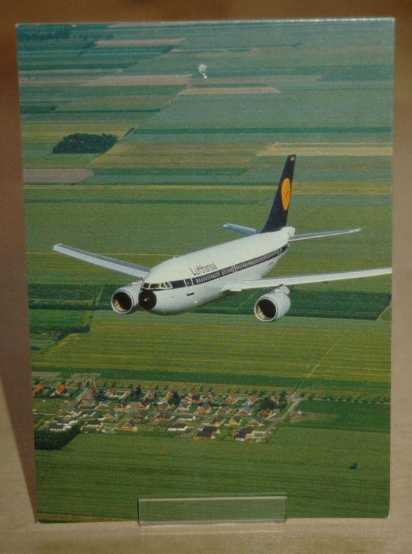 AK Lufthansa Flugzeug ( Boing ?)