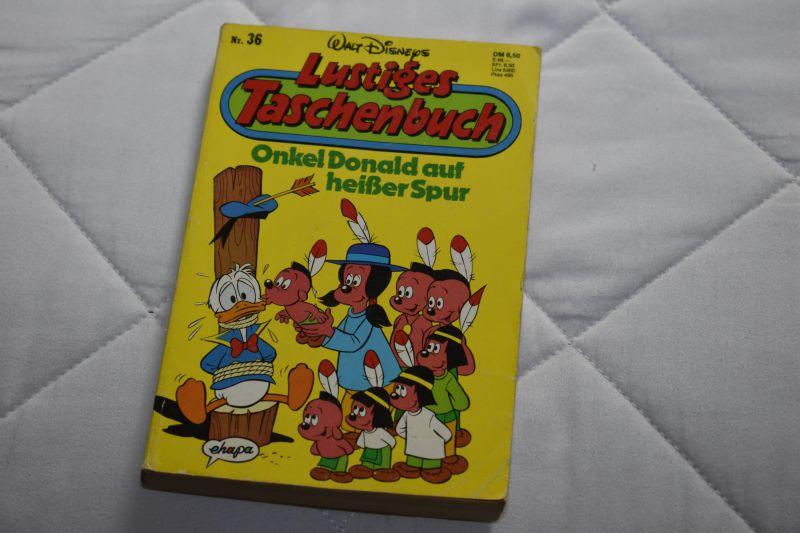 Lustiges Taschenbuch Nr.: 36  Onkel Donald auf heißer Spur