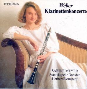 CD Weber - Klarinettenkonzerte