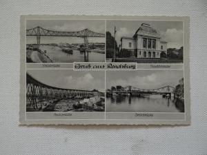 AK Gruß aus Rendsburg Mehrbildkarte